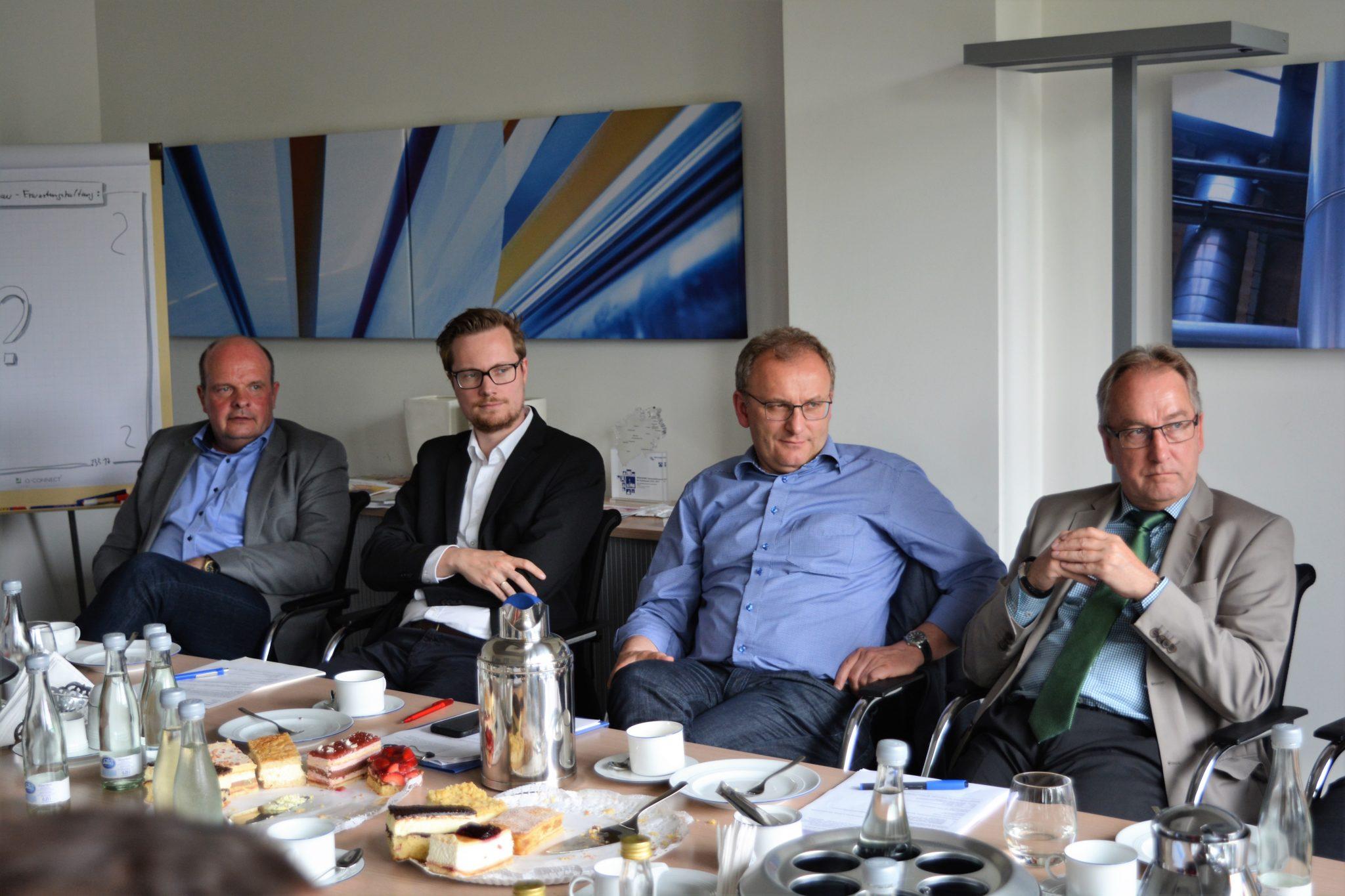 Treffen der Wirtschaftsförderer